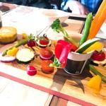 ニコキッチン - 旬野菜のバーニャカウダ