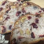 ヴァン ドゥ リュド - 薄くスライスされはパンは焼くとラスクみたい