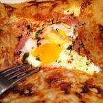 70472163 - 生ハムと2種チーズ、卵の浅草ガレット