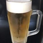 汁なし坦坦麺 ちりちり - 生ビールは500円