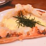 クラシックカフェ - お餅と海苔ピザ