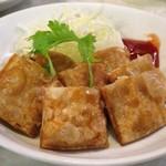水新菜館 - 肉巻き