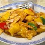 水新菜館 - 小海老とマンゴーの炒め