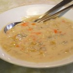 水新菜館 - アサリのクリーム煮