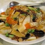 水新菜館 - 什錦炒麺(五目あんかけ焼きそば)