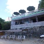 浜辺の茶屋 - 海から見た、外観
