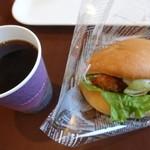 アイグラン - ホットコーヒー150円