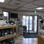 国民宿舎 えぼし荘 - 小袖海女センター 店内