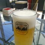 東急ビアガーデン プレミアムリゾート - まずは生ビール!