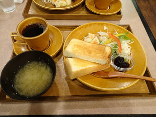CORITA CAFE - 季節のジャムのトーストセット