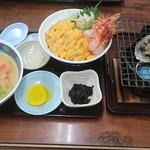 食堂うしお - 旅コミじゃらんセット3500円!