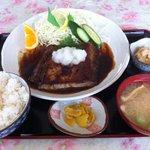 丸魚食堂 - まぐろステーキ