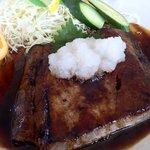 丸魚食堂 - まぐろステーキ アップ
