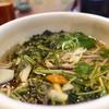 蕎路坊 - 料理写真:山菜蕎麦