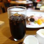 メルカートロッソ - アイスコーヒー@400