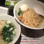 塩生姜らー麺専門店 マニッシュ - 塩生姜つけ麺味玉入り