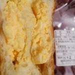 上田屋 - 卵パン断面