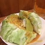 焼鳥どん - キャベツ味噌