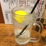 焼鳥どん - シャリ生レモン
