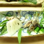 懐石料理 桝田 - 鮎塩焼き