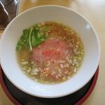 清麺屋 - 鶏と鯛の塩そば