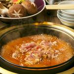 鶏すき焼き鍋