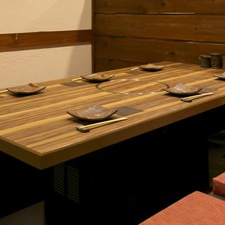 堀ごたつ6名テーブル