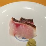 Sushihijikata - 2017.7.白ムツの刺身