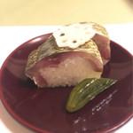 きん田 - (2017年7月)鯖の押し寿司(^.^)