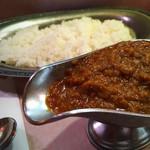 タンドゥール - インドカレー(50倍)とご飯