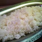 タンドゥール - ご飯