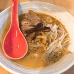 70488457 - 鶏ッチ濃厚醤油ラーメンです。(2017.6 byジプシーくん)