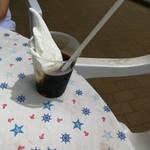 高橋牧場のアイス屋さん - コーヒーフローと