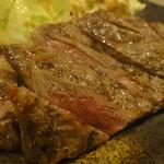 やきとり しま吉 - 近江牛しもふりステーキ1500円