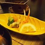 季節料理 魚喜 - かに 酢の物