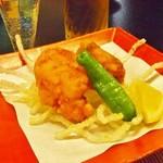 季節料理 魚喜 - 魚の唐揚げ