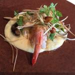 ソルト バイ ルークマンガン - 西オーストラリア産海老のソテー