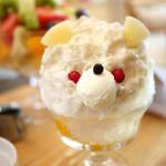 サンデコ珈琲 - SANDECO COFFEE 的白熊