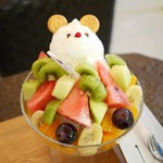 サンデコ珈琲 - フルーツ温泉 しろくまの湯