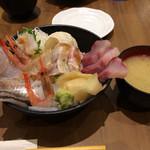 70491476 - 「のど黒と日本海の魚たち」味噌汁とともに