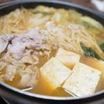 70491533 - 豚キムチ鍋