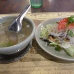 70491548 - スープ&春雨サラダ