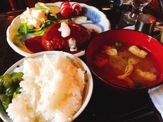 珈琲 らむぷ - ハンバーグランチ