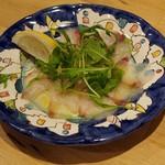 ピッツェリアベアトリーチェ - 鯛のカルパッチョ