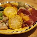 ピッツェリアベアトリーチェ - 前菜盛り合わせ2人前