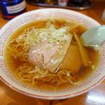 来々軒 - 料理写真:ラーメン¥550-