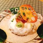 70495712 - マクロの一口寿司