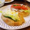 ヨーロピアン - 料理写真:クロワッサンサンド
