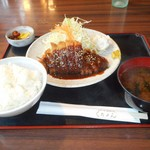くれよん - 料理写真:名古屋みそかつランチ