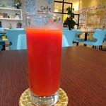 カフェ箱塚 - トマトジュース